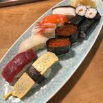 万盛寿し - 料理写真:ランチ生寿司 1000円