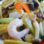 龍福亭 - 料理写真:中崋飯
