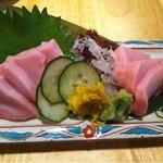 うお旬 - 鮫肝の刺身