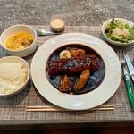 154542430 - 10食限定 葡萄と黒酢の特製酢豚ランチ 1800円