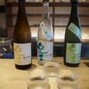 平和酒店 - ドリンク写真:紀土飲み比べ(純米、夏ノ疾風、純米大吟醸45)