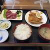 市場食堂 - 料理写真:カツオ刺身セット(フライ付)