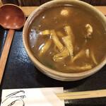 かれーうどん 椿 - 鶏かれーうどん(820円)