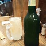154547359 - ハートランド中瓶とハイボールでかんぱい!