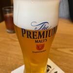 酉十郎 - 生ビール