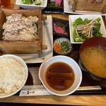 酉十郎 - 地鶏のせいろ膳