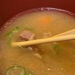 酉十郎 - 豚汁