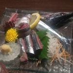 酒菜屋 志らい - 秋刀魚の刺身。
