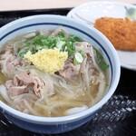 さぬきうどんの駅 綾川 - 肉うどん
