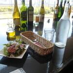 Steak&Wine Vabene - 丼ランチセットのサラダ