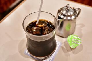 名曲・珈琲 新宿 らんぶる - 【ケーキセット@税込1,100円】アイスコーヒー