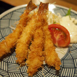 きづいち - エビフライ定食