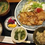 きづいち - 豚の生姜焼き定食