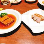 154564345 - 各料理、小皿で食べやすい