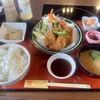 お食事処 龍頭の里 - 料理写真:猪かつ膳のご飯大盛り