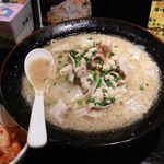 らぁ麺 三軒屋 - もばらーめん(肉追加なし)