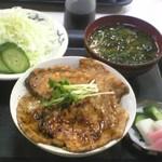 15457987 - 豚丼 小盛