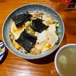 鳥新 - 鶏料理屋の親子丼