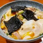 鳥新 - 料理写真:鶏料理屋の親子丼