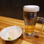 牛串酒場 ごり串 - プレモル&お通し