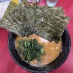 154580061 - ラーメン                       麺少なめ、油少なめ                       麺少なめだと玉子か海苔がサービス