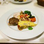 トラットリア レオーネ - 前菜盛り合わせ