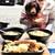 がいな製麺所 - 我家の三女の愛犬Montagneも一緒に
