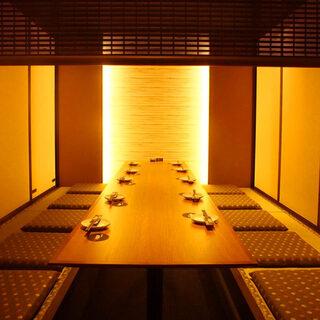 【全席個室空間】2名様〜可能な大小宴会に最適な自慢の個室邸★