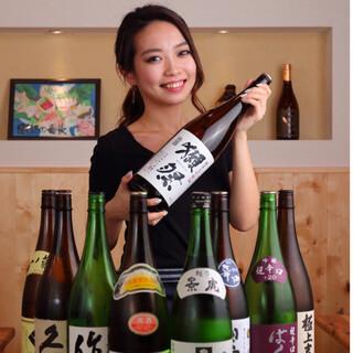 ■新潟越後の地酒中心に種類豊富な品揃え■看板娘でおもてなし♪