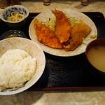 柳ばし - サクラマスフライ定食