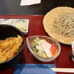 水府そば 大和屋 - 料理写真:日替わりセット