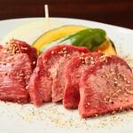 とがし肉家 - 牛タン定食