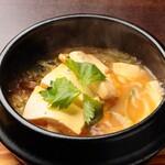 とがし肉家 - 豆腐チゲ