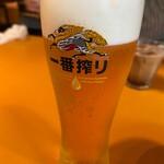 欧風食堂 カンパーニャ - 生ビール