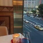 thi-shi-shi-ginzanoyoushoku - 赤ワイン風 葡萄ジュース