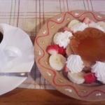 茶房 ぶれっど - ケーキセット(プリンぷりんとブレンドコーヒー)