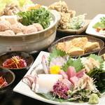雑多居酒屋 しののめ - 4,000円の宴会コースは、新潟の美味が満載の内容