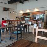 コップン カフェ - 店内の様子