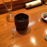 鮨処やまと - 日本酒にて