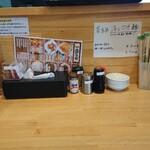麺屋 藤 - 内観