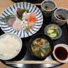 恵比寿 笹岡 - 料理写真:お昼の特別 お刺身定食