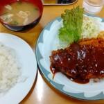 154615204 - 黒豚ロースカツ定食