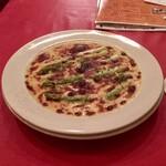 バル・バロッサ - アスパラガスのグリュイレールチーズ焼き