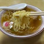 桜井食堂 - 麺リフトしてみました