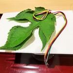154620923 - 梶の葉に7色の糸で星に願いを