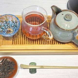 本格台湾茶を楽しめます。リラックスしたい時にご利用ください。
