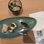 三重テラス - 本日の前菜3小鉢