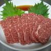 焼肉味亭 - 料理写真:霜降り馬刺し