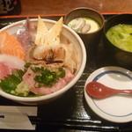 15463506 - 2012,10 ランチ海鮮丼 \980