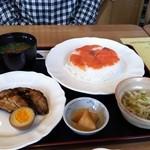 メイプルリーフ - 日替わり サーモン寿司